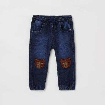 MAX Appliqued Jogger Jeans