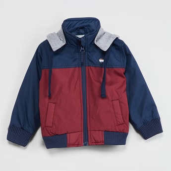MAX Colourblock Hooded Jacket