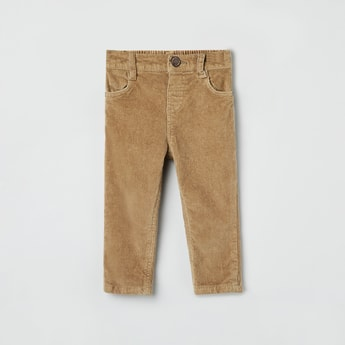 MAX Textured Regular Fit Corduroy Trousers