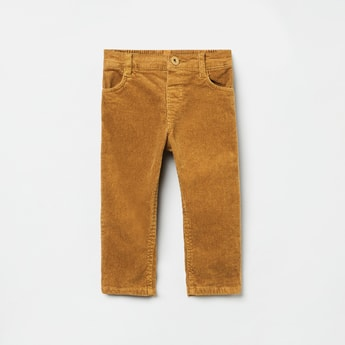 MAX Corduroy Textured Slim Fit Trousers