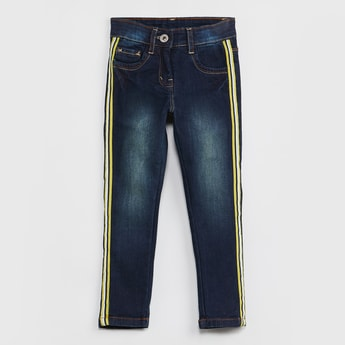 MAX Tape Detailed Slim Fit Jeans