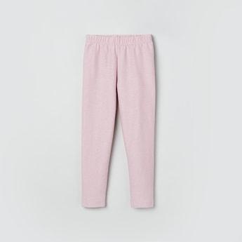 MAX Textured Lurex Knit Leggings