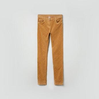 MAX Star Print 5-Pocket Pants