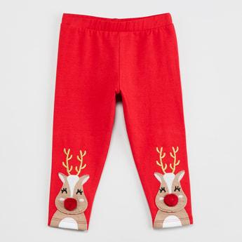MAX Applique Detail Pants
