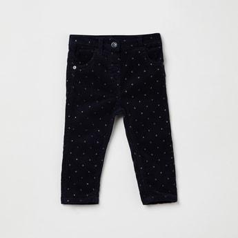 MAX Star Print Slim Fit Trousers