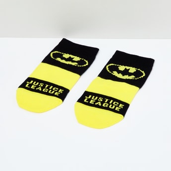 MAX Batman Patterned Socks - 5-7Y