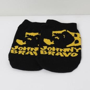 MAX Johnny Bravo Patterned Ankle-Length Socks