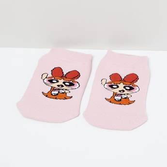 MAX Powerpuff Girls Print Socks - 7-10Y