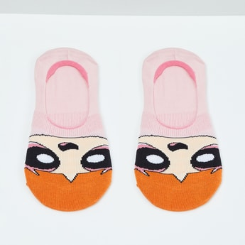 MAX Power Puff Girls Patterned Footies