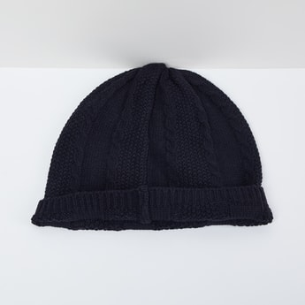 MAX Cable Knit Beanie