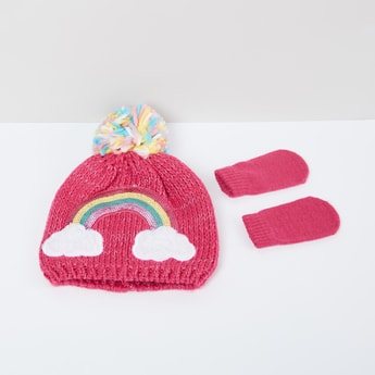 MAX Sequinned Beanie with Socks
