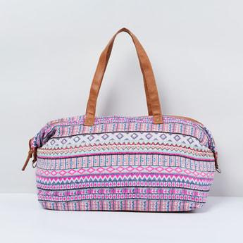 MAX Patterned Weave Duffel Bag