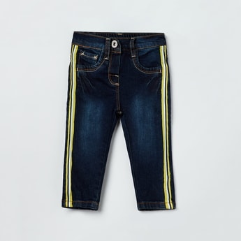 MAX Taper Detailed Slim Fit Jeans