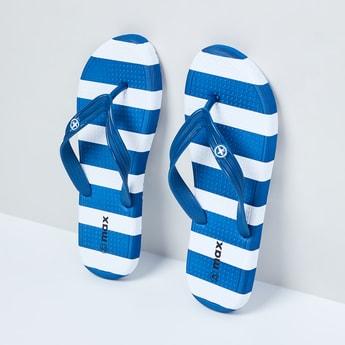 MAX Striped Flip Flops
