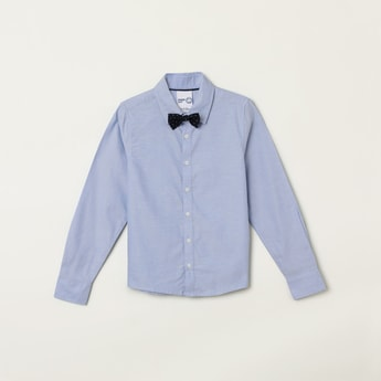 MAX Solid Shirt with Bow