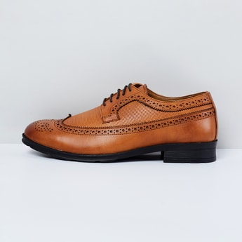 MAX Textured Brogues
