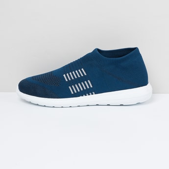 MAX Mid-Top Knit-Sock Shoes