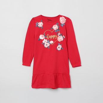 MAX Floral Print Shift Dress
