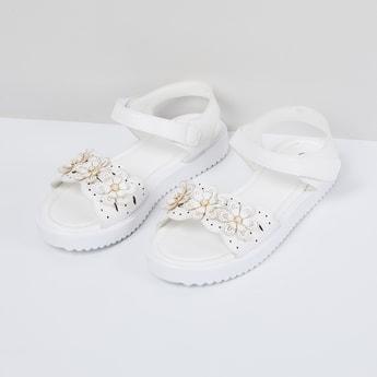 MAX Embellished Velco Sandals