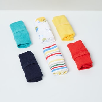 MAX Printed Washcloth - Pack of 6