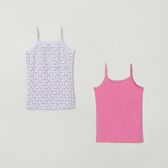 MAX Printed Knitted Camisoles - Pack of 2