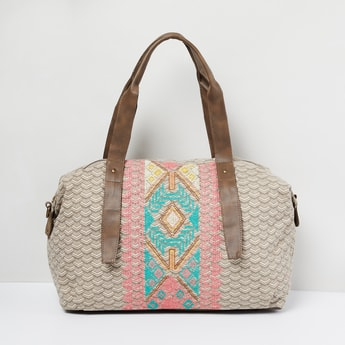 MAX Printed Duffel Bag