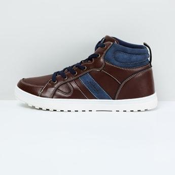 MAX Colourblock High-Top Casual Shoes