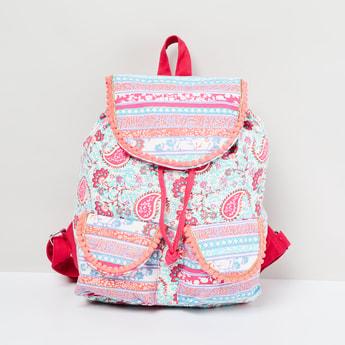 MAX Paisley Print Backpack