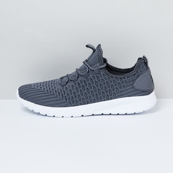 MAX Textured Mesh Panel Detail Sports Shoes