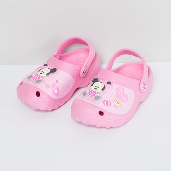 MAX Clogs with Minnie Mouse Applique