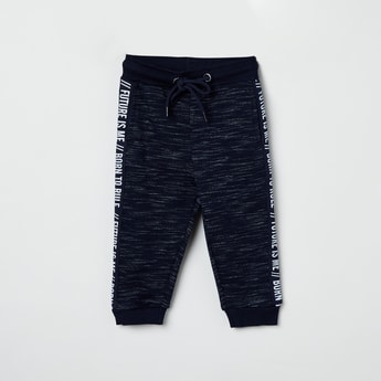 MAX Heathered Tape Detailed Joggers