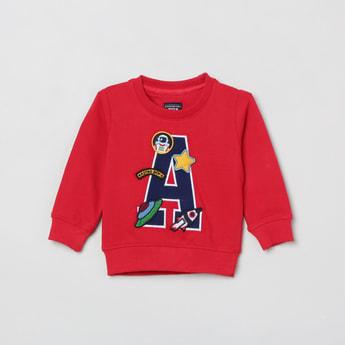 MAX Appliqued Full Sleeves Sweatshirt