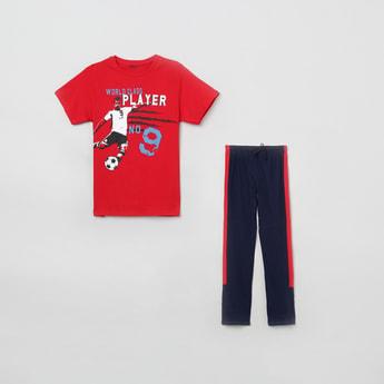 MAX Printed T-shirt with Pyjamas
