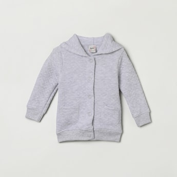 MAX Heathered Quilted Hoodie