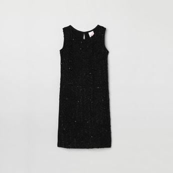 MAX Sequinned Sheath Dress