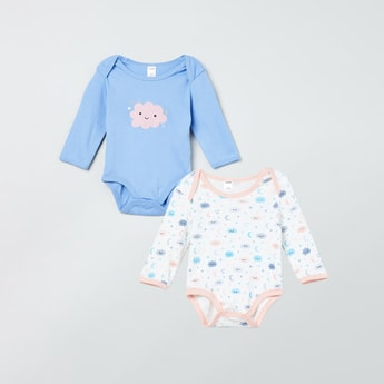 MAX Printed Rompers - Pack of 2