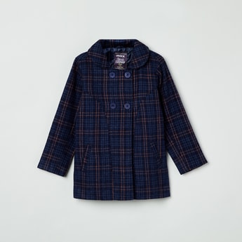 MAX Checked Coat Jacket