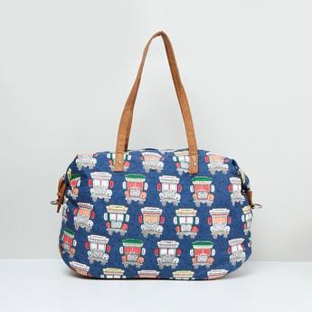 MAX Printed Zip-Closure Bowling Bag