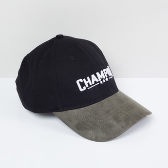 MAX Embroidered Colourblock Cap