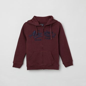 MAX Embroidered Hooded Sweatshirt