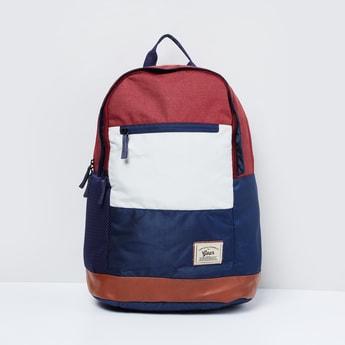 MAX Textured Colourblock Backpack