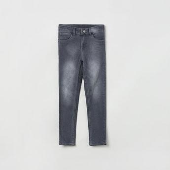 MAX 5-Pocket Dark Washed Jeans