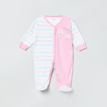 MAX Printed Button Down Sleepsuit