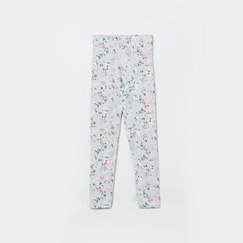 MAX Floral Print Elasticated Leggings