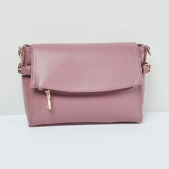 MAX Textured Shoulder Bag