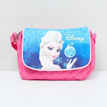 MAX Disney Princess Print Quilted Sling Bag
