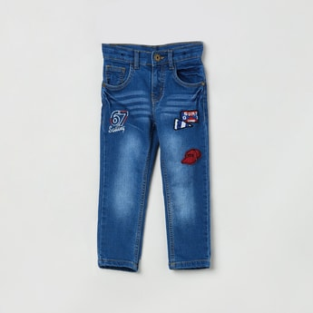 MAX 5-Pocket Jeans with Applique