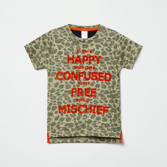 MAX Printed Crew-Neck T-shirt
