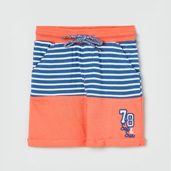 MAX Striped Colourblock Shorts