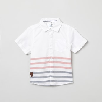 MAX Striped Short Sleeves Shirt